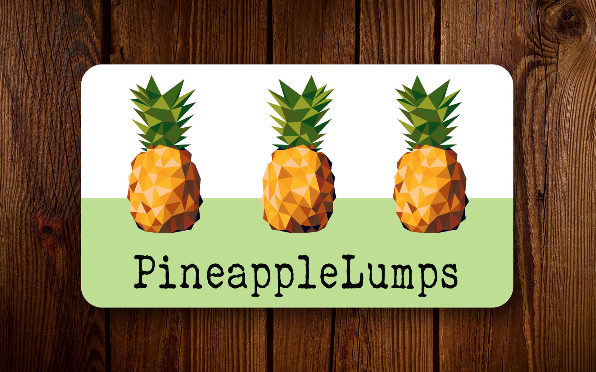 PineappleLumps Business Cards