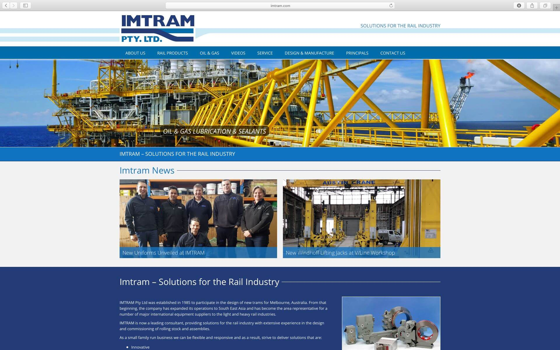 IMTRAM Website