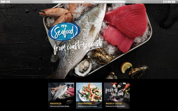 PFD Seafood Website