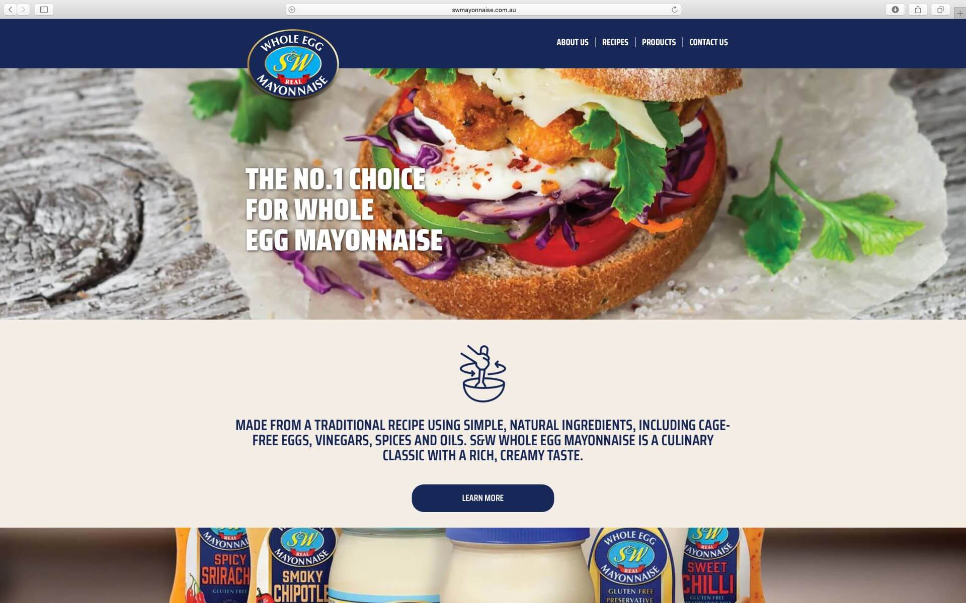 SW Mayonnaise Website
